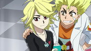Fubuki and Ranjiro sweet smiles