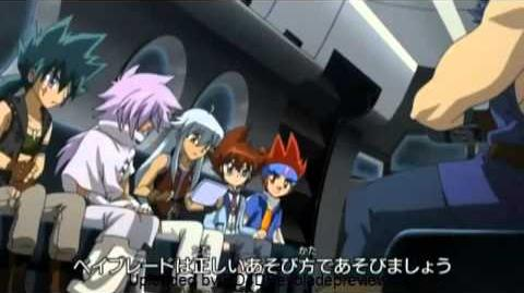 HD Metal Fight Beyblade 4D Episode 145 - The Lost Kingdom 失われた王国 (01 29 12)