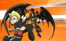Beyblade Burst Evolution Rantaro Kiyama and Berserk Roktavor Avatar USA Website Poster