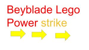 Beyblade Lego Power Strike