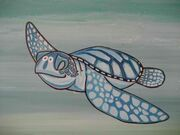 Noah-Turtle-Painting