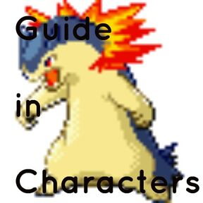 Guide in Characters