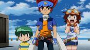 Gingka, Kenta and Madoka