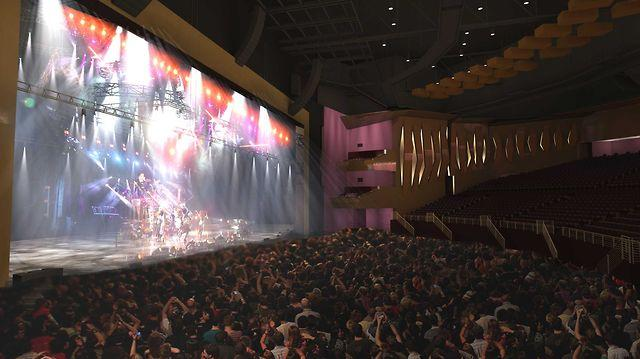 3D Animation of Ovation Hall at Revel