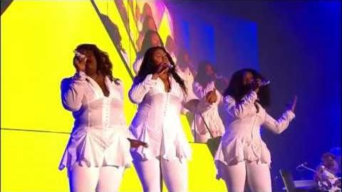 The Mamas - Love Hangover - Live Glastonbury 2011 (Beyoncé's Background Singers)