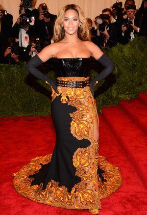 Beyonce MET Gala 5