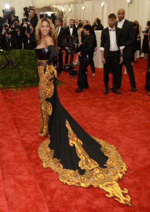 Beyonce MET Gala 10