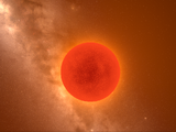 Red-Brown Supergiant