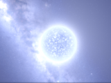 Blue-White Supergiant