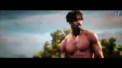 Black Panther Movie Clip Killmonger vs Black Panther fight scene