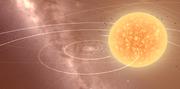 Universe sandbox VY Canis Majoris