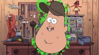 Gravity Falls Fixin' it with Soos - Golf Cart Official Disney Channel Africa