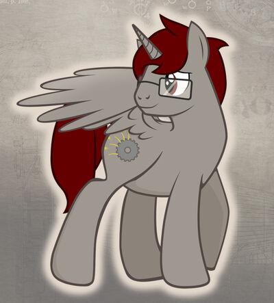 Oc pony spark rattle by ohthatchristina-d4b8t8e