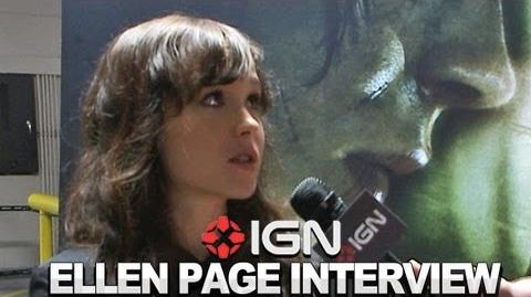 Beyond Two Souls - Ellen Page and David Cage Interview - Comic-Con 2012