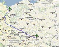 Trasa przez Berlin
