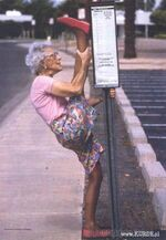 Babcia trening
