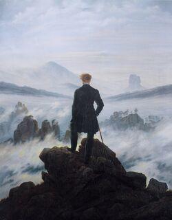 Caspar David Friedrich 032 (The wanderer above the sea of fog)