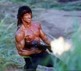 Rambo strzela