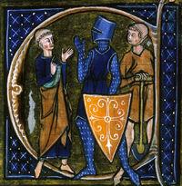 Średniowieczny obrazek
