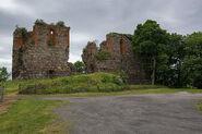 Ruiny zamku w Papowie Biskupim