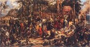 Chrzest Litwy Matejki