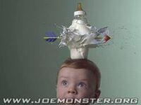 Dzieciak z mlekiem