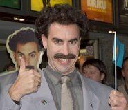 Borat in Cologne