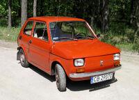 Polski Fiat 126p rocznik 1973