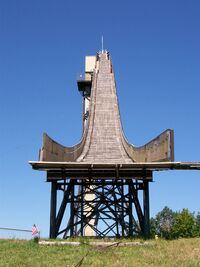 Copper Peak Ski Jump