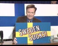 Szwecja - apel od Fina