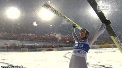 Kamil Stoch- 128 m Zakopane 2011 (2 seria 3 konkurs)
