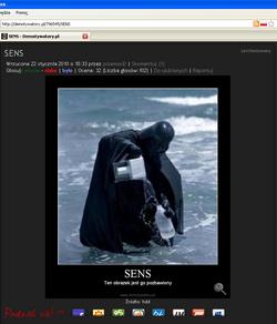 Vader w morzu