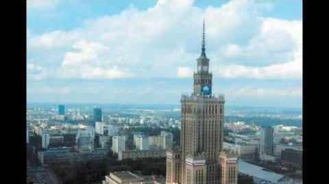 UFO in Warsaw. UFO w Warszawie. Nagranie z kamery internetowej