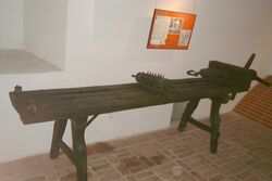 Poland - torture bed in Torture Museum