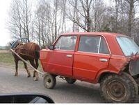 Jeden koń mechaniczny