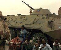 Czołg w Somalii