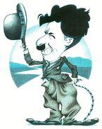 Chaplin caricature