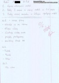 Test z chemii