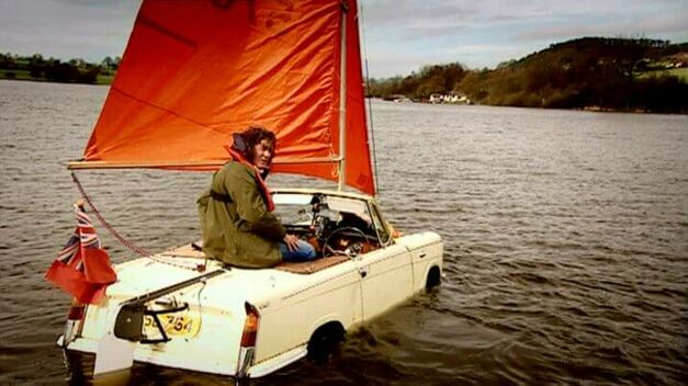 Top Gear Triumph Herald Sailboat James May