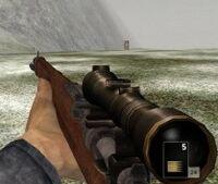 1895 Steyr-Mannlicher scope
