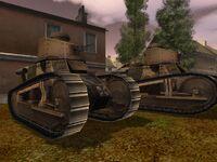 Beutepanzer FT-17