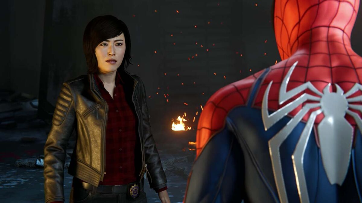 Spider-Man PS4 exclusive game Yuriko Watanabe