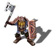 Dwarven guardian (closeup)