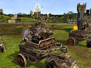 Dwarven battle wagon