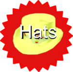 New hats logo