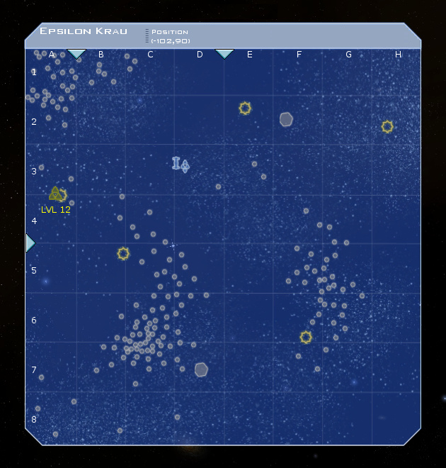 Epsilon Krau System Map