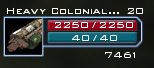 Heavy Colonial Freighter Icon