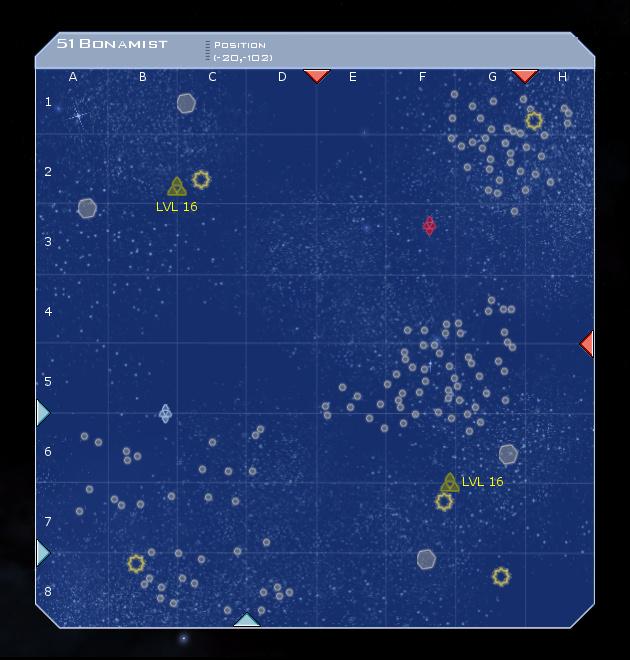 51 Bonamist System Map