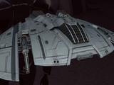 Advanced Cylon War Raider