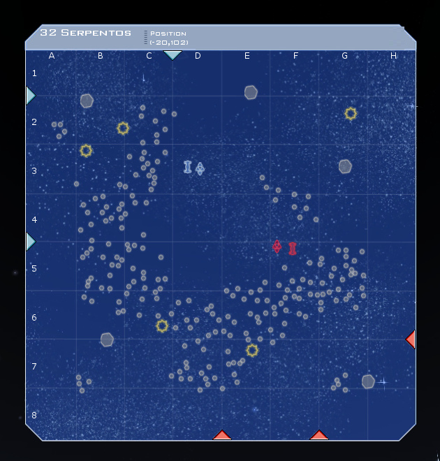 32 Serpentos System Map